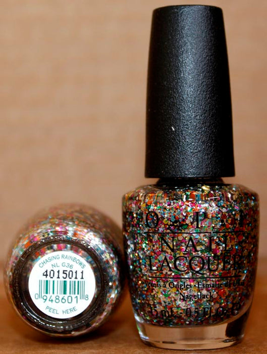 OPI Nail Polish NL G36 Chasing Rainbows