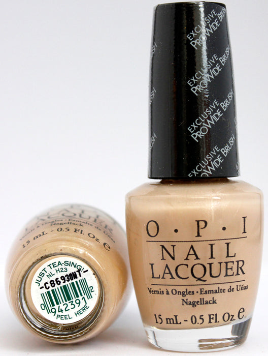 OPI Nail Polish NL H23 Just Tea-sing