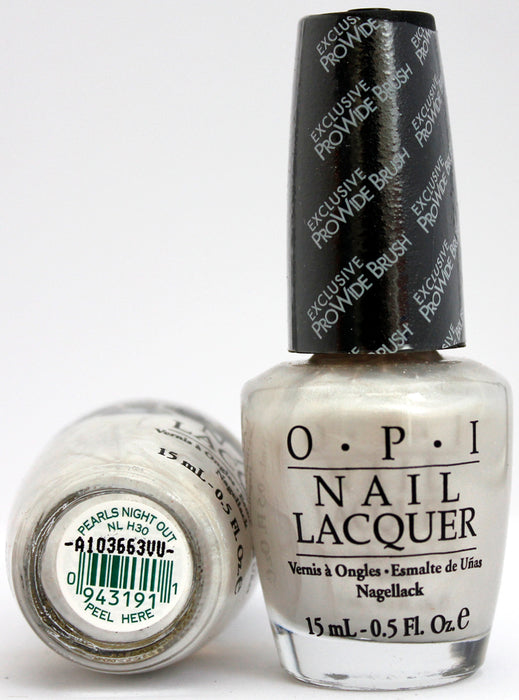 OPI Nail Polish NL H30 Pearls Night Out