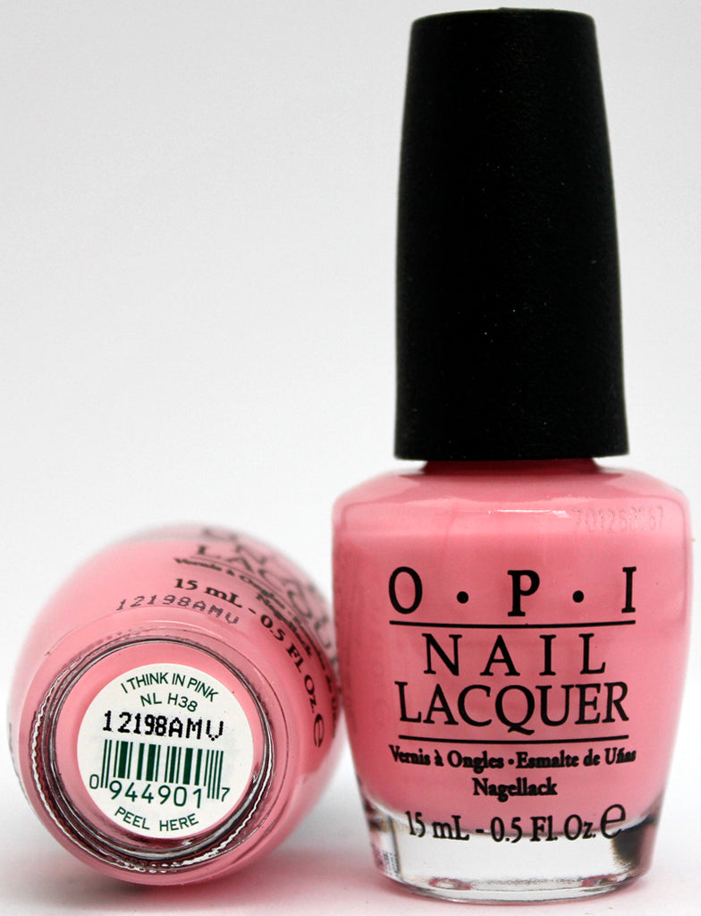 OPI Nail Polish NL H38 I Think in Pink