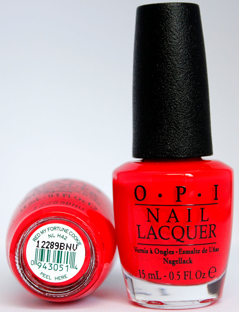 OPI Nail Polish NL H42 Red My Fortune Cookie