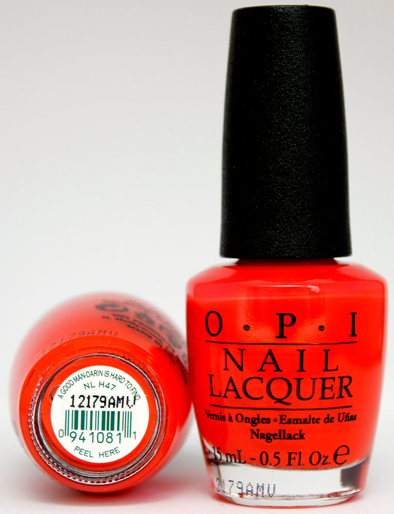 OPI Nail Polish NL H47 A Good Man-darin is Hard to Find