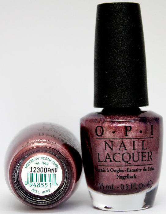 OPI Nail Polish NL H49 Meet Me on the Star Ferry
