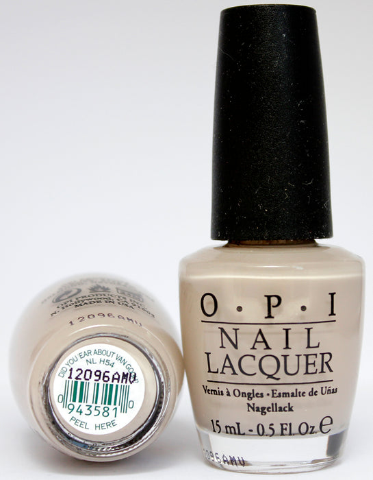 OPI Nail Polish NL H54 Did You 'ear About Van Gogh?