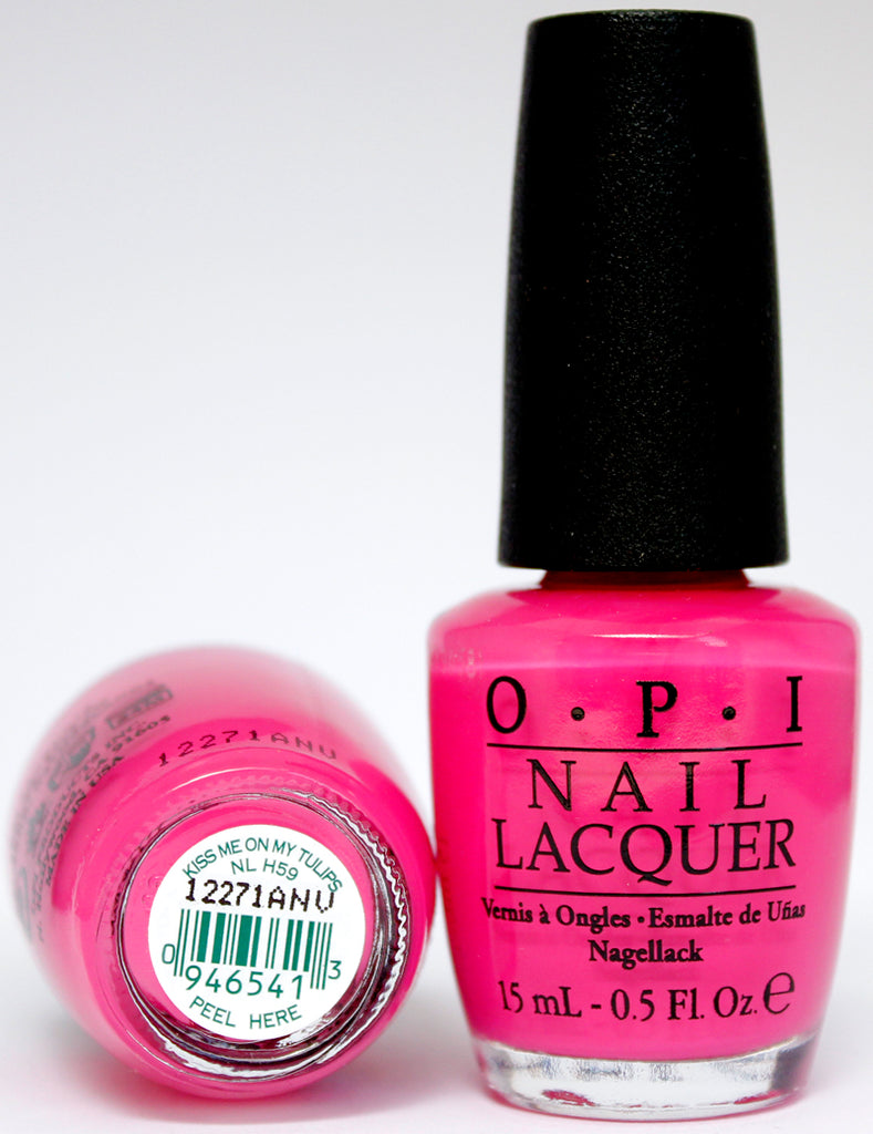 OPI Nail Polish NL H59 Kiss Me on my Tulips