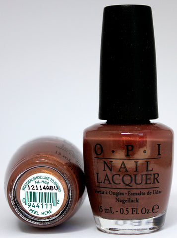 OPI Nail Polish NL H64 Wooden Shoe Like to Know?