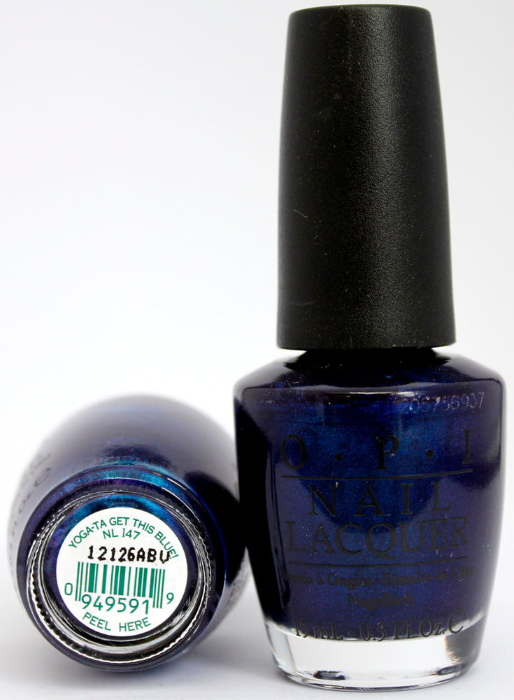 OPI Nail Polish NL I47 Yoga-ta Get This Blue!