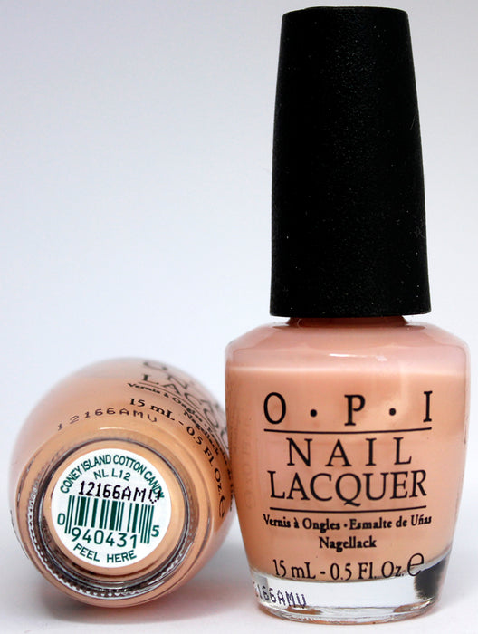OPI Nail Polish NL L12 Coney Island Cotton Candy