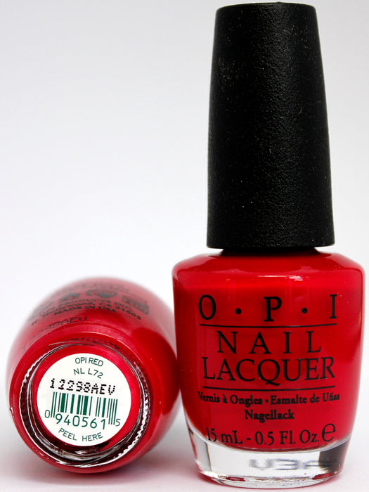 OPI Nail Polish NL L72 OPI Red