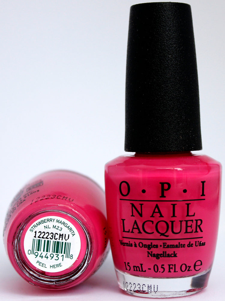 Opi Nail Polish Nl M23 Strawberry Margarita Hebiss