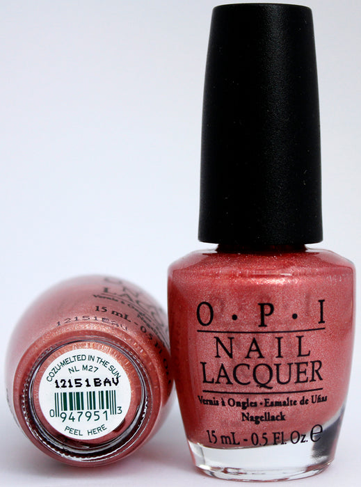 OPI Nail Polish NL M27 Cozu-melted in the Sun