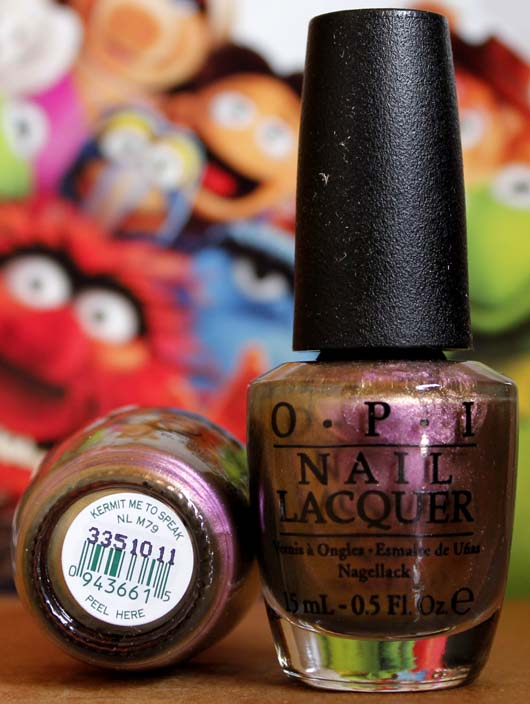 OPI Nail Polish NL M79 Kermit Me to Speak