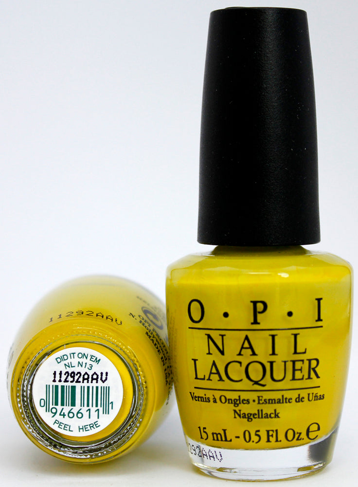 OPI Nail Polish NL N13 Did It On 'Em
