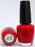 OPI Nail Polish NL N25 Big Apple Red