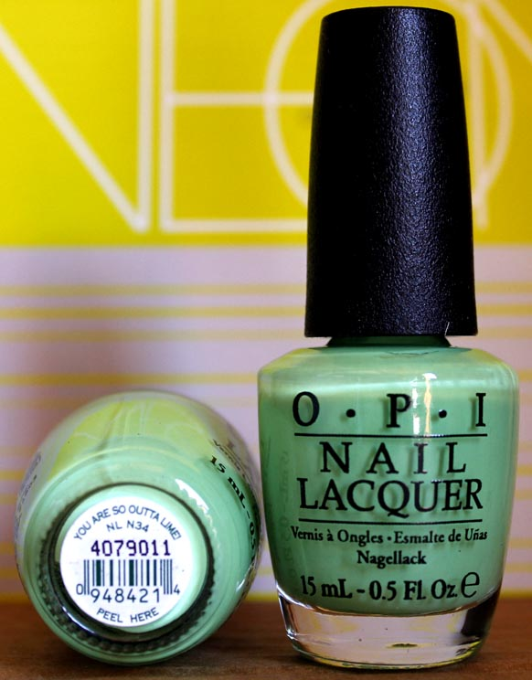 OPI Nail Polish NL N34 You are So Outta Lime!