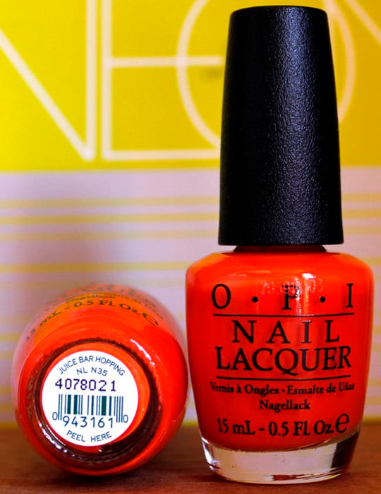 OPI Nail Polish NL N35 Juice Bar Hopping