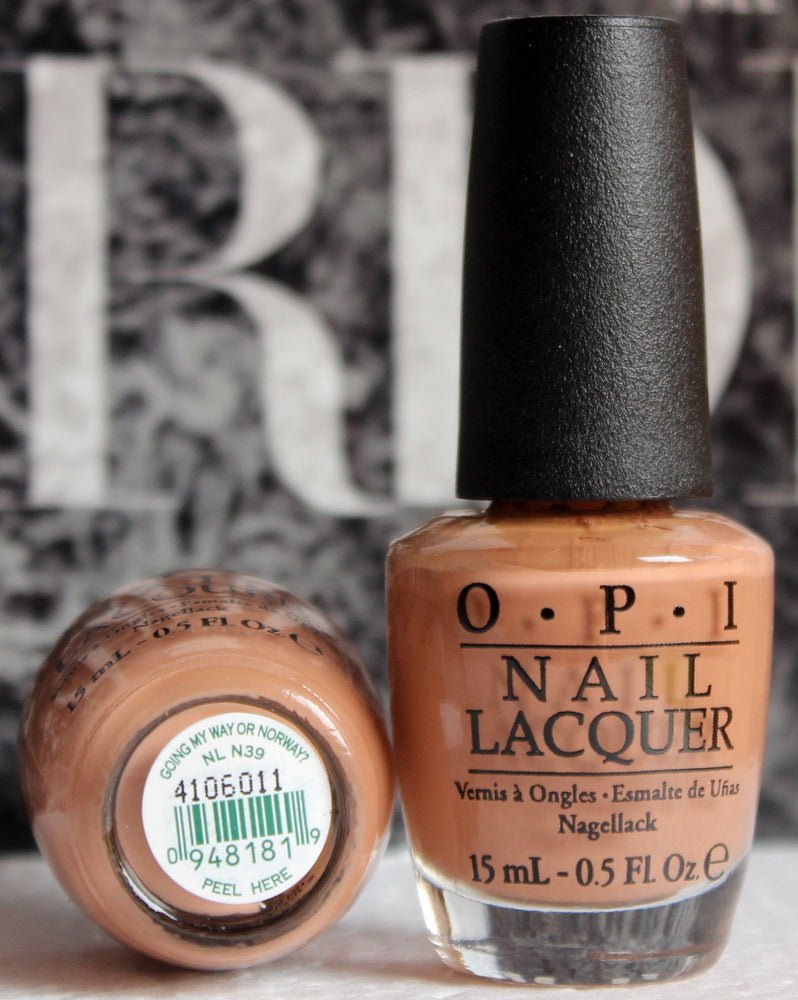 OPI Nail Polish NL N39 Going My Way or Norway?