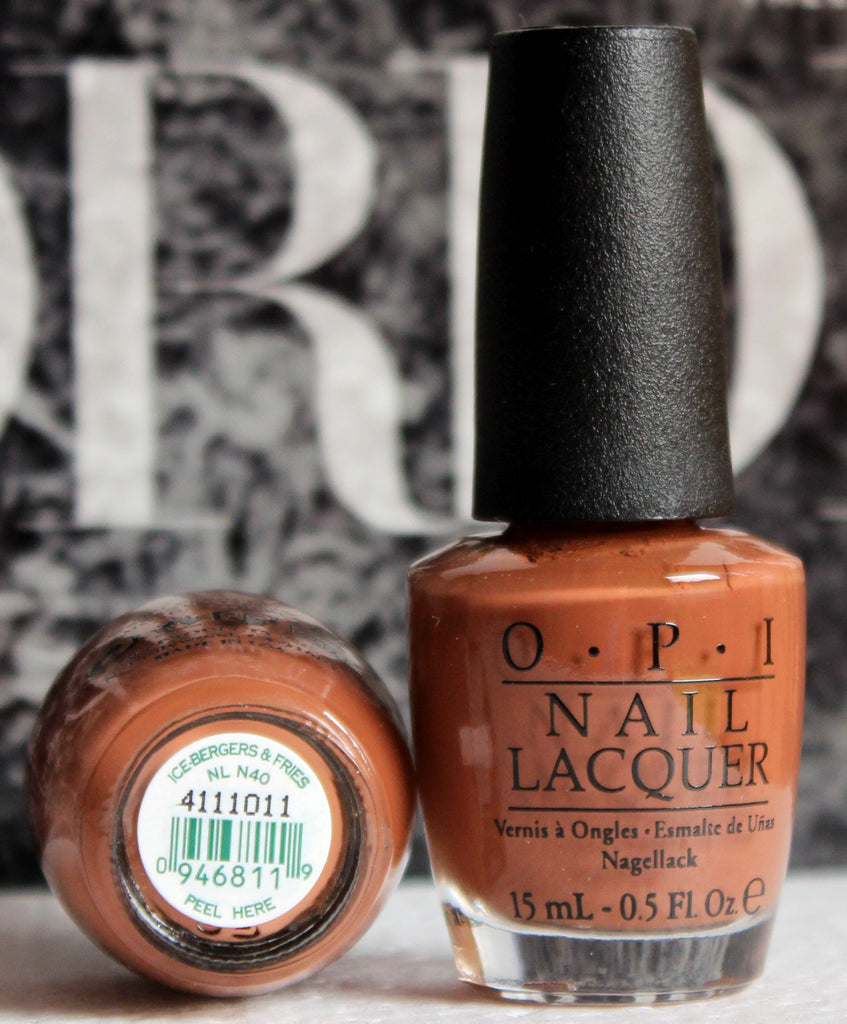 OPI Nail Polish NL N40 Ice-Bergers & Fries