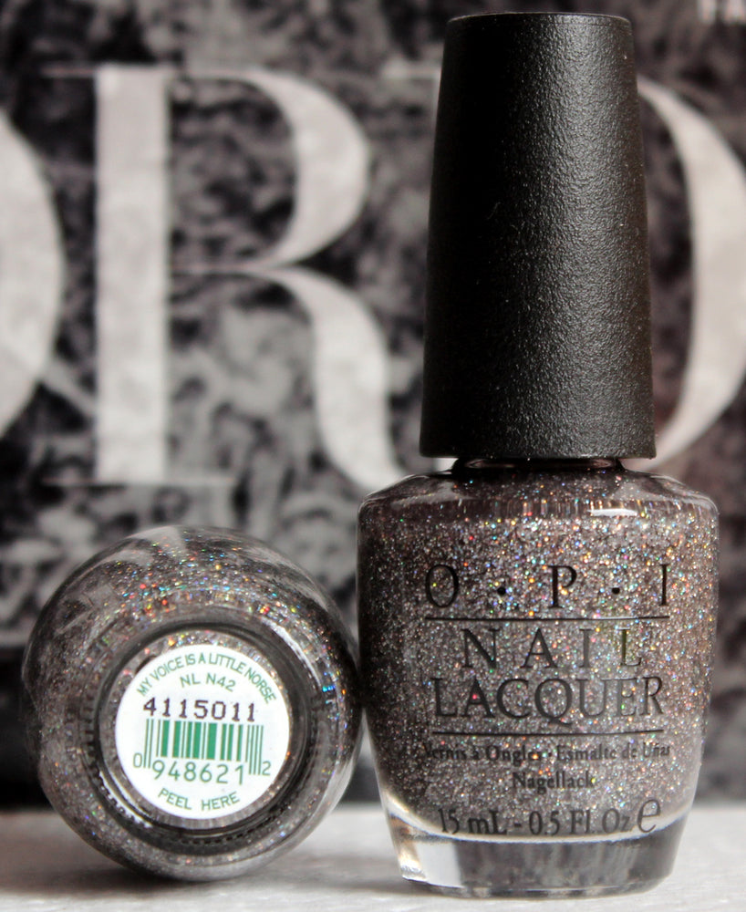 OPI Nail Polish NL N42 My Voice is a Little Norse