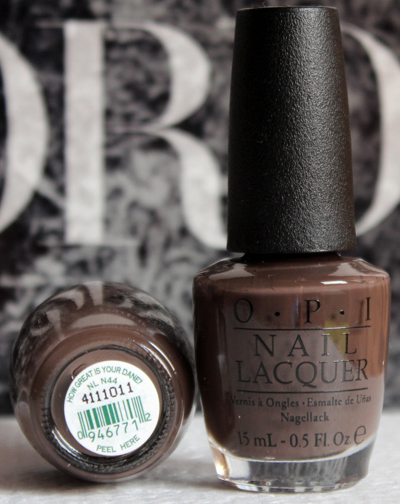 OPI Nail Polish NL N44 How Great is Your Dane?