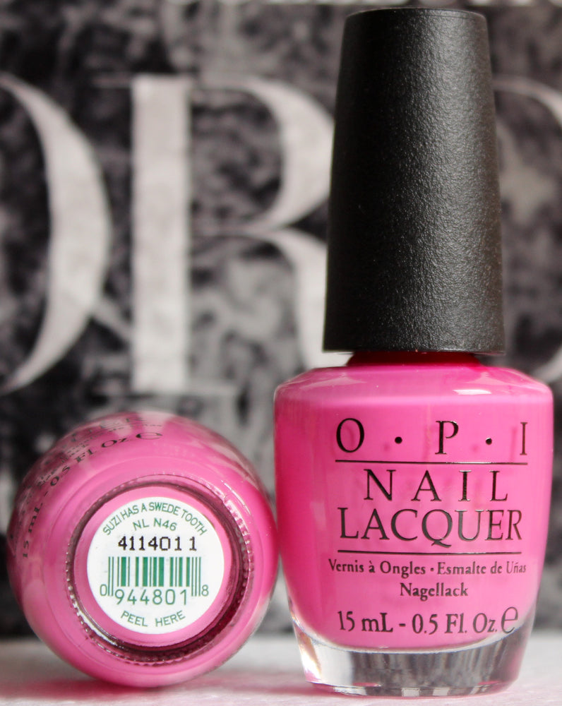 OPI Nail Polish  NL N46 Suzi Has a Swede Tooth