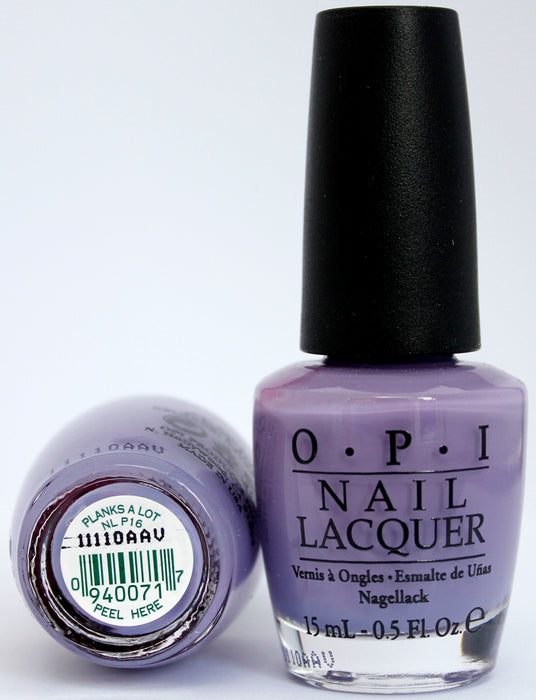 OPI Nail Polish NL P16 Planks a Lot