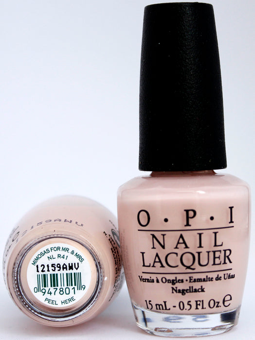 OPI Nail Polish NL R41 Mimosas for Mr. & Mrs.