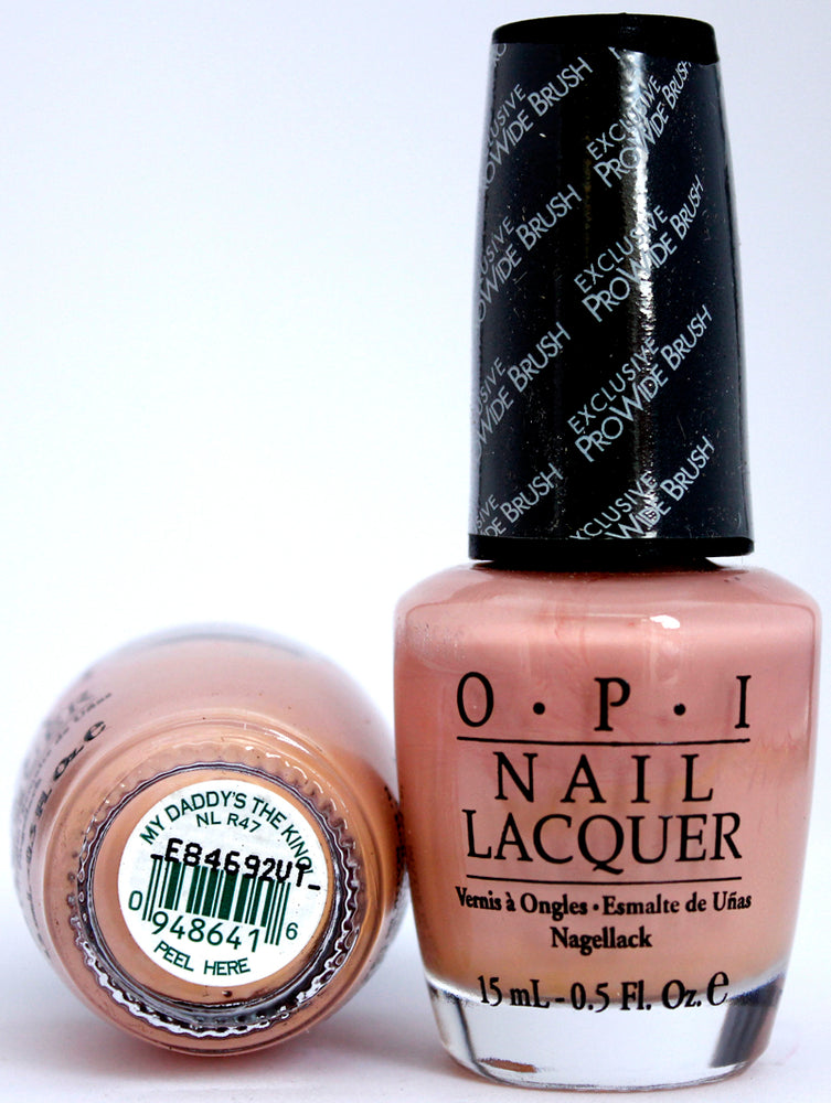 OPI Nail Polish NL R47 My Daddy's the King