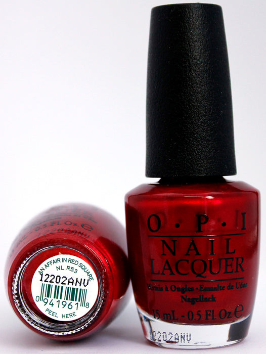 OPI Nail Polish NL R53 An Affair in Red Square