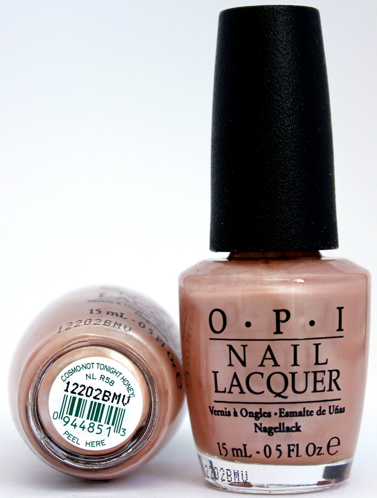 OPI Nail Polish NL R58 Cosmo-Not Tonight Honey!