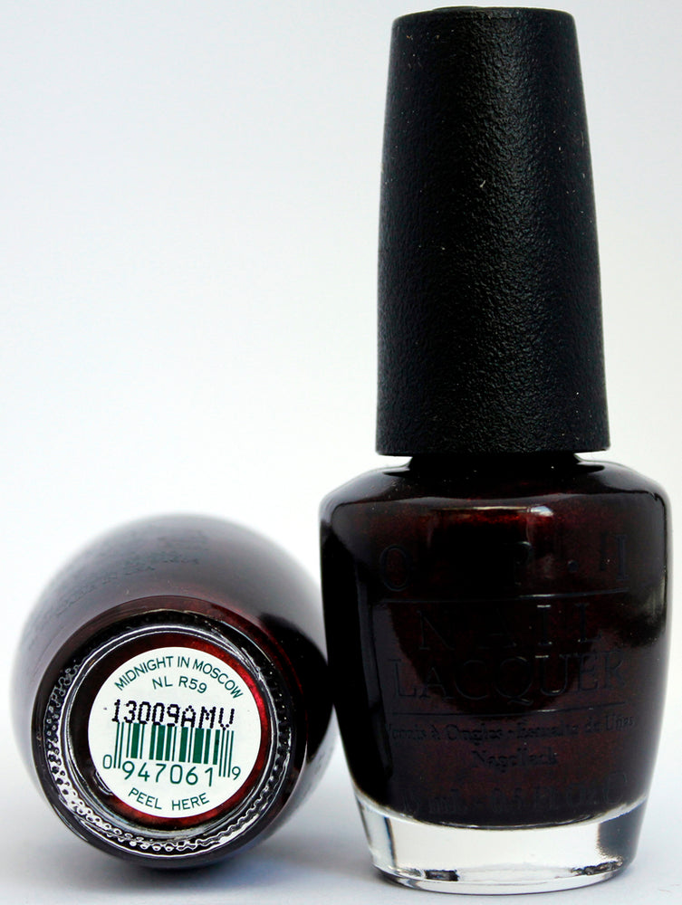 OPI Nail Polish NL R59 Midnight in Moscow