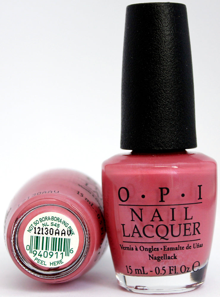 OPI Nail Polish NL S45 Not So Bora- Bora-ing Pink