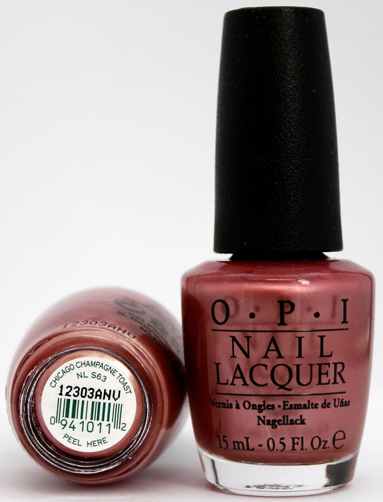 OPI Nail Polish NL S63 Chicaco Champagne Toast