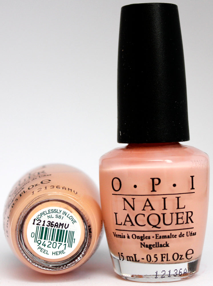 OPI Nail Polish NL S81 Hopelessly in Love