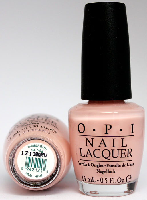 OPI Nail Polish NL S86 Bubble Bath