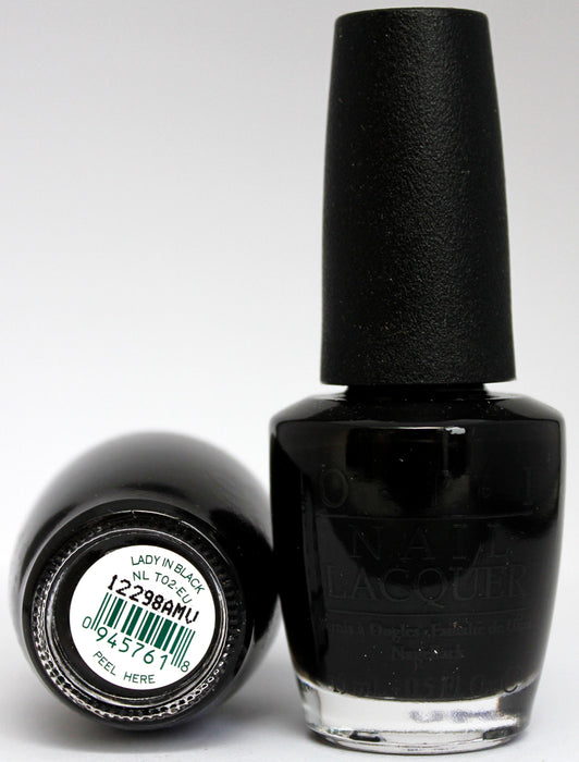 OPI Nail Polish NL T02-EU Lady in Black