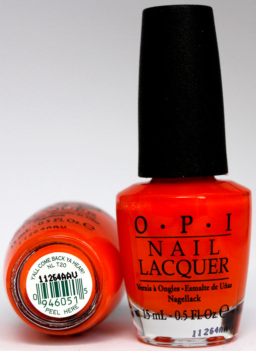 OPI Nail Polish NL T20 Bubble Bath