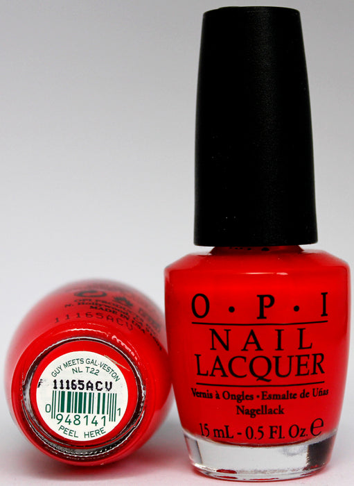OPI Nail Polish NL T22 Guy Meets Gal-veston