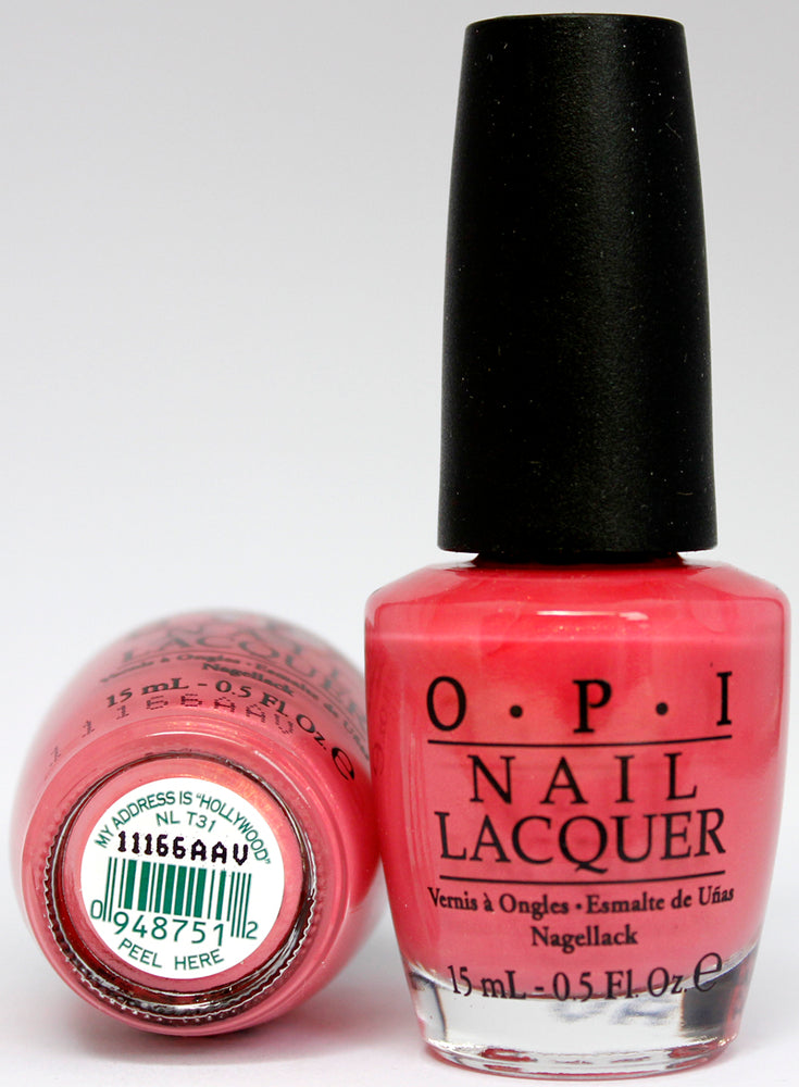 OPI Nail Polish NL T31 My Address is 'Hollywood'