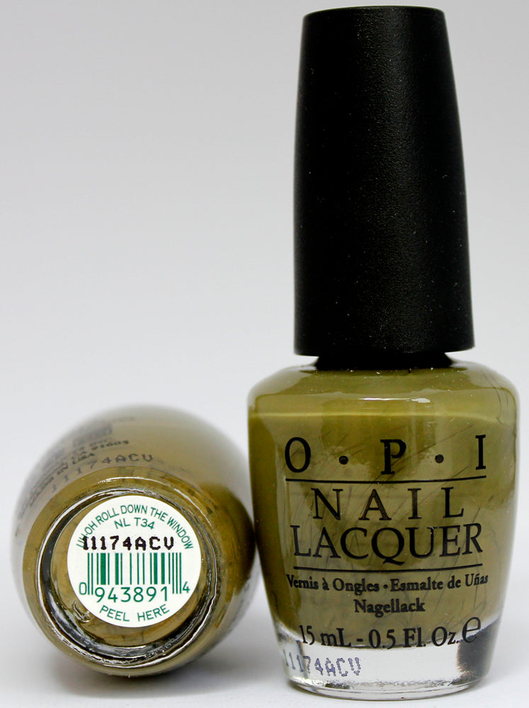 OPI Nail Polish NL T34 Uh-oh Roll Down the Window