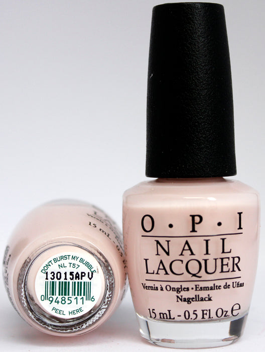 OPI Nail Polish NL T57 Don't Burst My Bubble