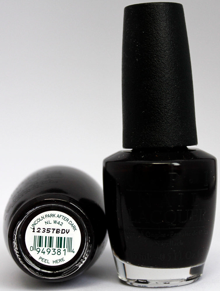 OPI Nail Polish NL W42 Lincoln Park After Dark