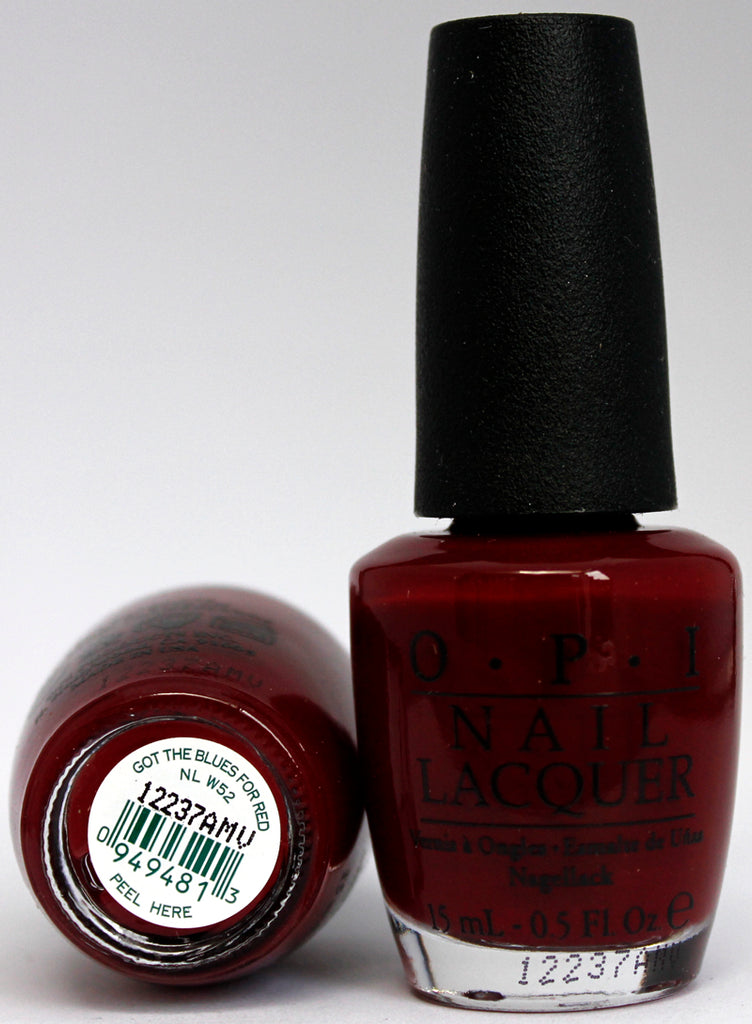OPI Nail Polish NL W52 Got the Blues for Red – Hebiss