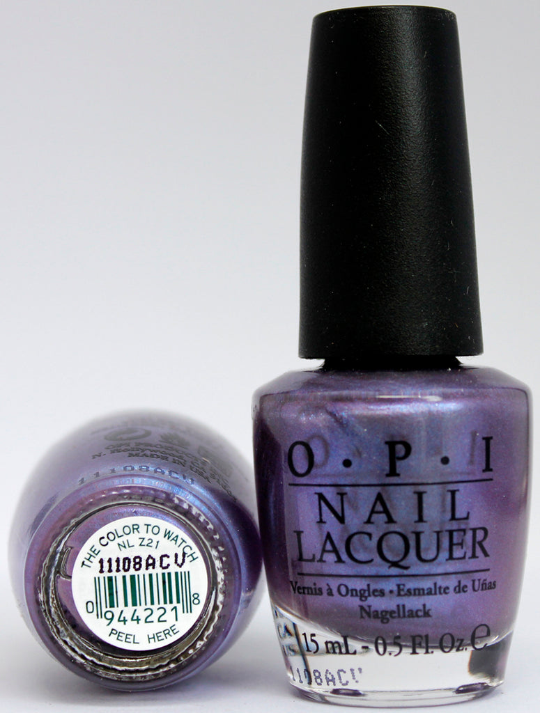 OPI Nail Polish NL Z21 The Color to Watch