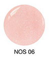 SNS Nail color dipping powder PREPPY PINK  NOS06  1 OZ