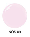 SNS Nail color dipping powder  BARELY BLUSH NOS09  1 OZ