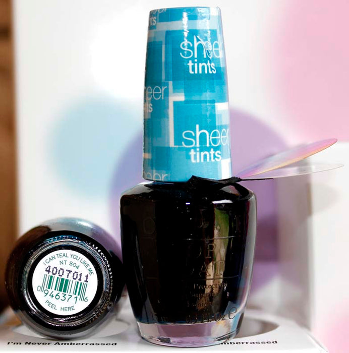 OPI Nail Polish NT S04 I Can Teal You Like Me