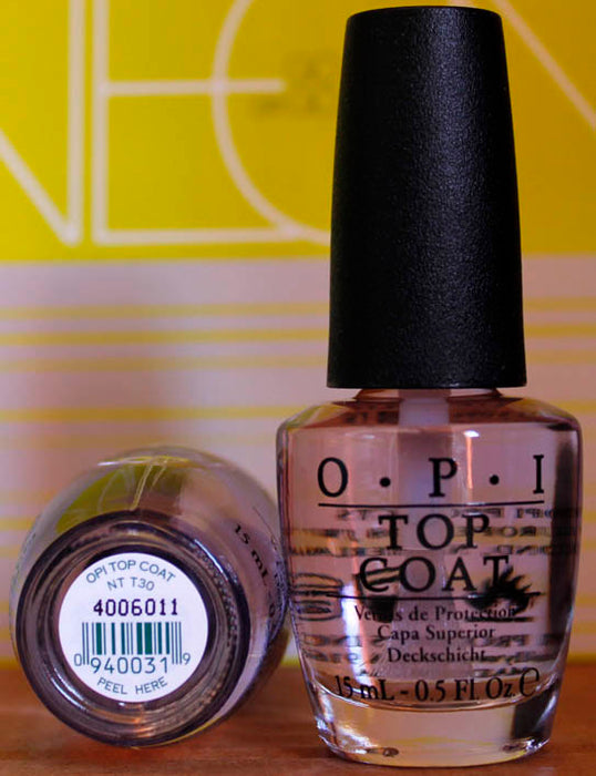 OPI Nail Polish NT T30 Natural Top Coat