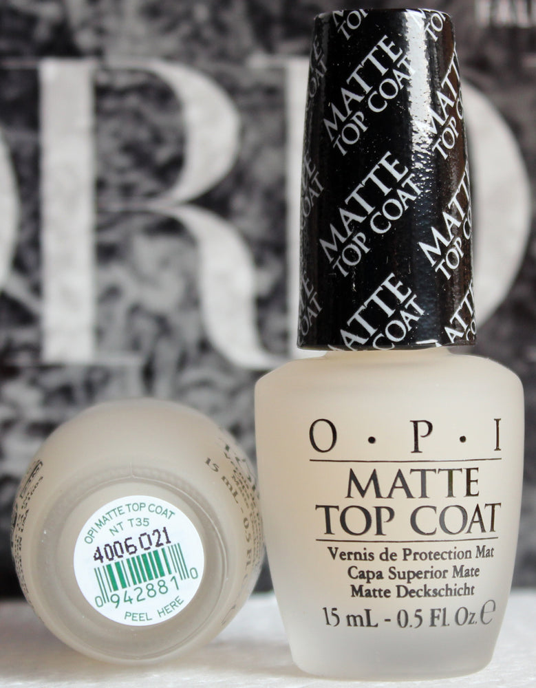 OPI Nail Polish NT T35 OPI Matte Top Coat