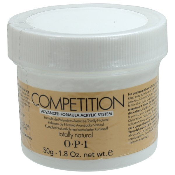 OPI competition powder totally natural  1.76 oz 50 g AE E22  np2